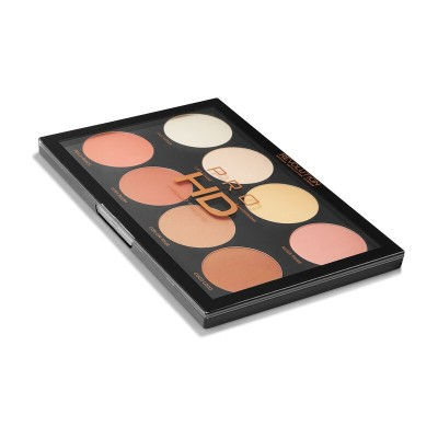 Палетка для контуринга HD Amplified Palette Mega Matte