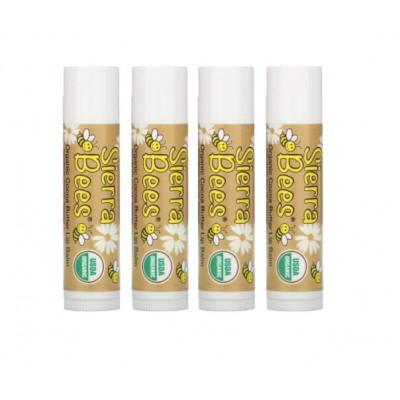 Органический бальзам для губ Sierra Bees, какао-масло