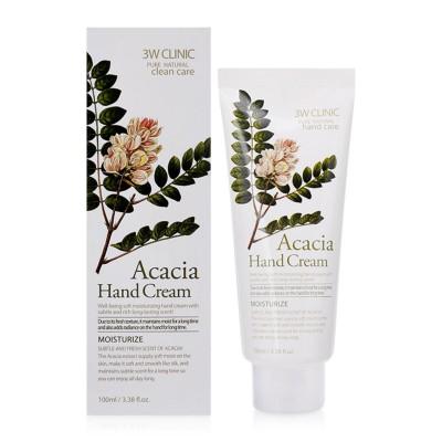 Питательный крем для рук 3W Clinic Acacia Hand Cream