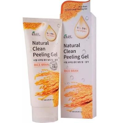 Пилинг-скатка коричневый рис EKEL Natural Clean Peeling Gel Rice Bran
