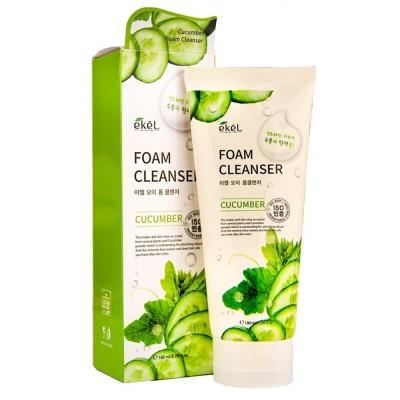 Пенка для лица Огурец EKEL Cucumber Foam Cleanser