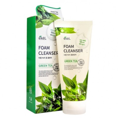 Пенка для лица Ekel Foam Cleanser Green Tea, 180 ml