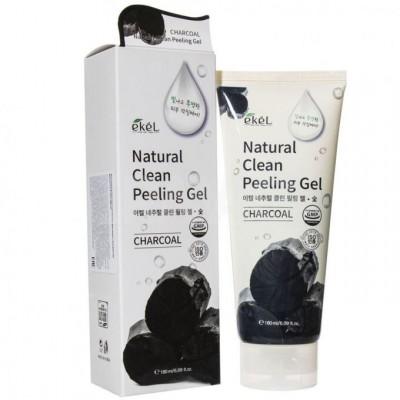 Пилинг-скатка лица Ekel Charcoal Foam Cleanser, 180 ml