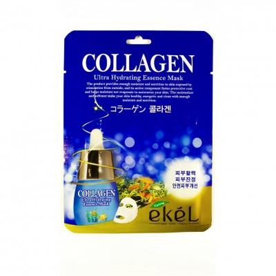 Увлажняющая тканевая маска с коллагеном Ekel Collagen Ultra Hydrating