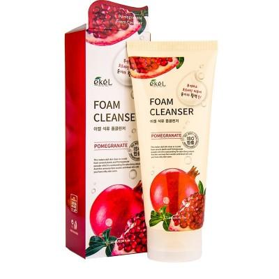 Пенка для лица с экстрактами граната Ekel Foam Cleanser Pomegranate