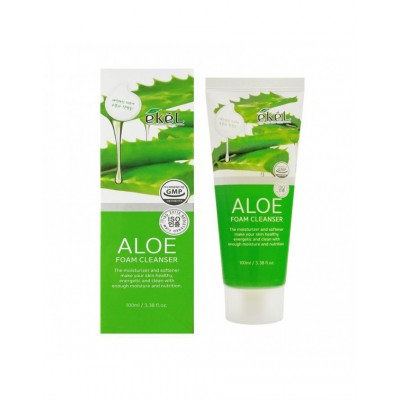 Пенка для лица Алоэ EKEL Aloe Foam Cleanser, 100 ml
