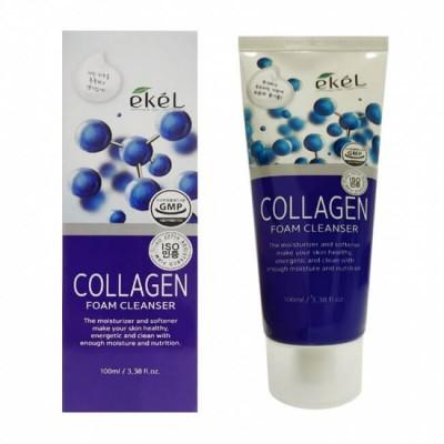 Пенка для лица Ekel Collagen Foam Cleanser, 100 ml