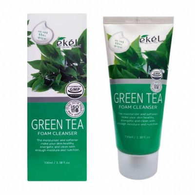 Пенка для лица Ekel Green Tea Foam Cleanser, 100 ml