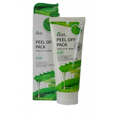 Маска-плёнка Ekel Peel Off Pack Aloe, 180 ml