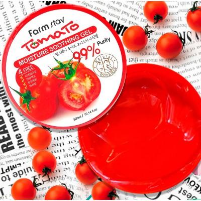 Гель для тела и лица Tomato Moisture Soothing Gel FarmStay