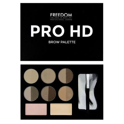 Палетка теней для бровей Pro HD - Fair Medium