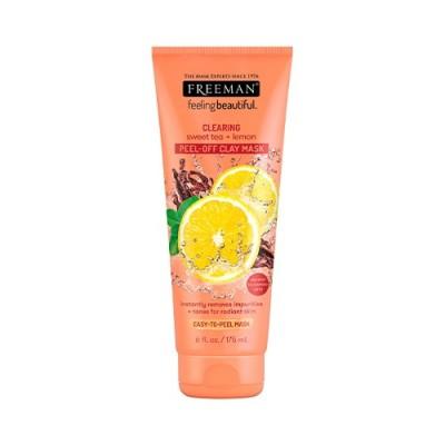 Freeman Beauty очищающая пилинг-маска для лица (лимон)