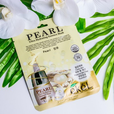 Маска для лица Ekel Pearl Ultra Hydrating Essence Mask