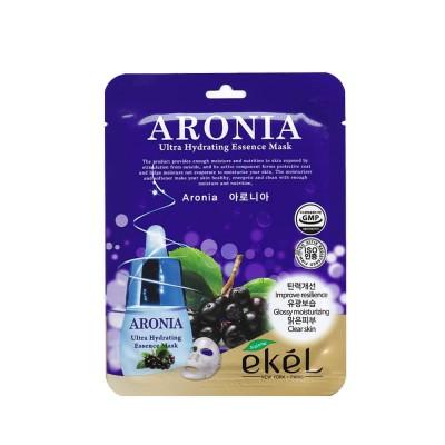 Тканевая маска Ekel Aronia Ultra Hydrating Essence Mask