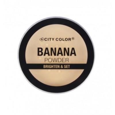 Рассыпчатая пудра City Color Loose Banana Powder