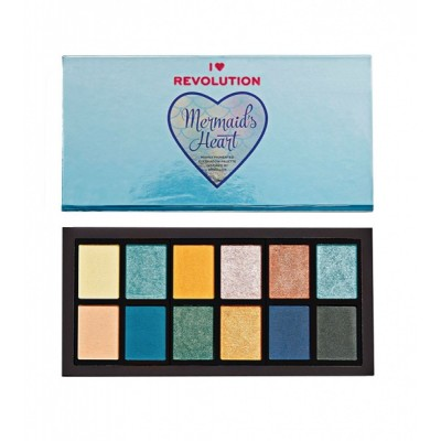 Палетка теней для век Revolution Mermaids Heart Eyeshadow