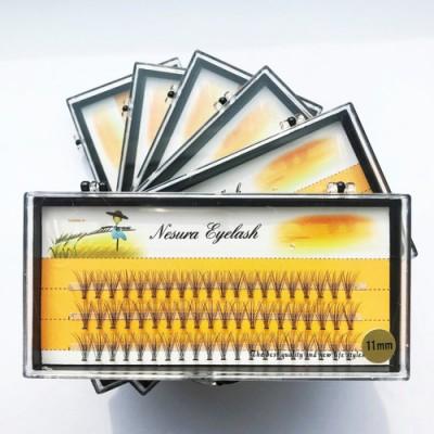 Пучковые ресницы Nesura, 11mm
