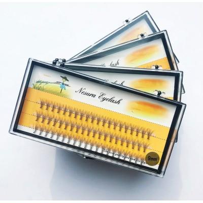 Пучковые ресницы Nesura, 9mm