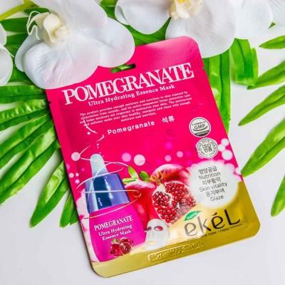 Тканевая маска Pomegranate Ekel Ultra Hydrating essence mask